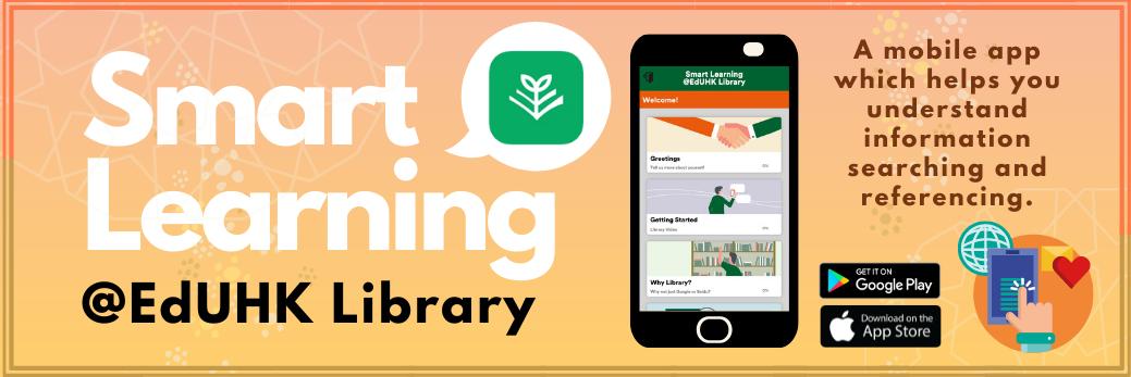 Smart Learning@EdUHK Library